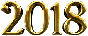2018 Happy New Year Transparent PNG PNG Clip art