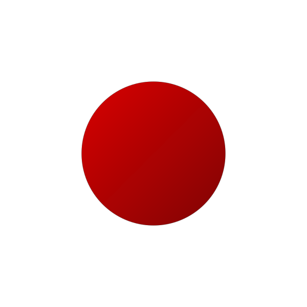 New Red Button Rotated Left PNG Clip art
