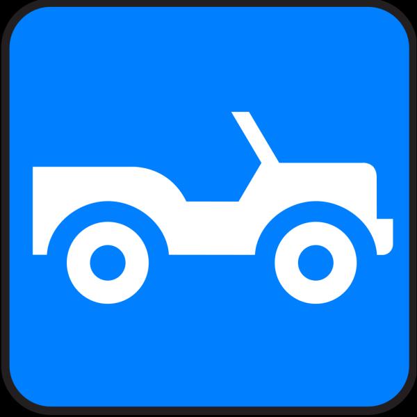 Blue Jeep PNG images