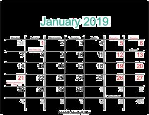 2019 Calendar Background PNG PNG Clip art