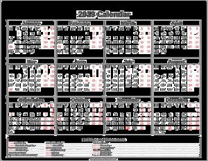 2019 Calendar PNG File PNG Clip art