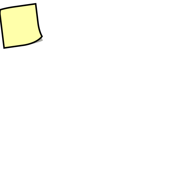 Stickynotes PNG Clip art