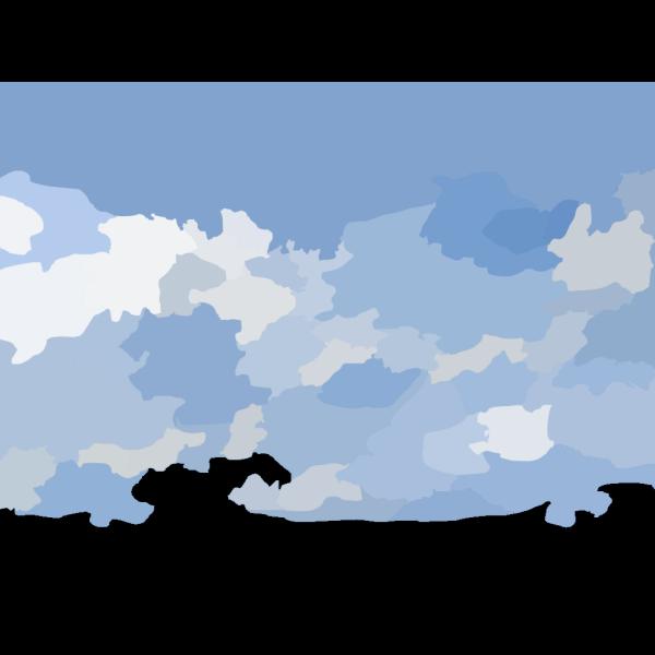 Blue Sky Texture PNG Clip art