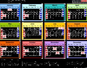 2020 Calendar PNG Transparent Image PNG Clip art