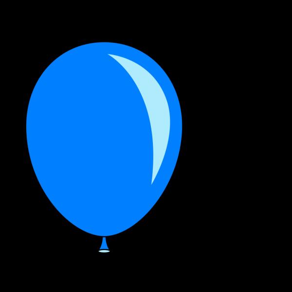 New Blue Balloon PNG Clip art