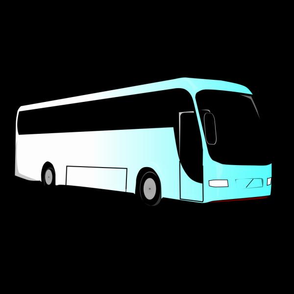 Blue Bus Pals Livery PNG Clip art