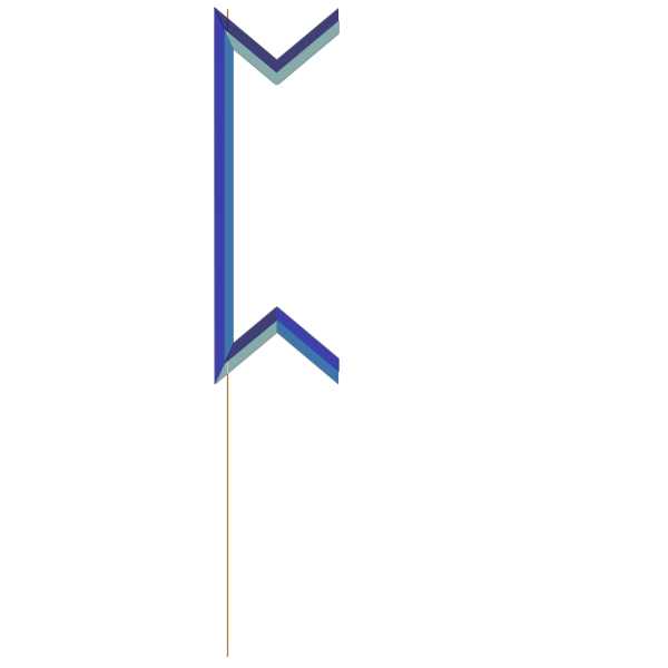 Pointier Blue Pertho Rune PNG images