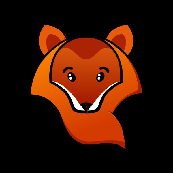 Fox Head PNG Clip art