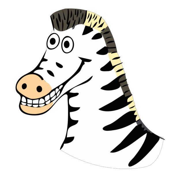 Cartoon Zebra PNG Clip art
