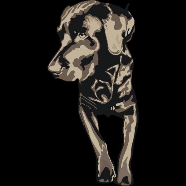 Black Pet Dog PNG Clip art