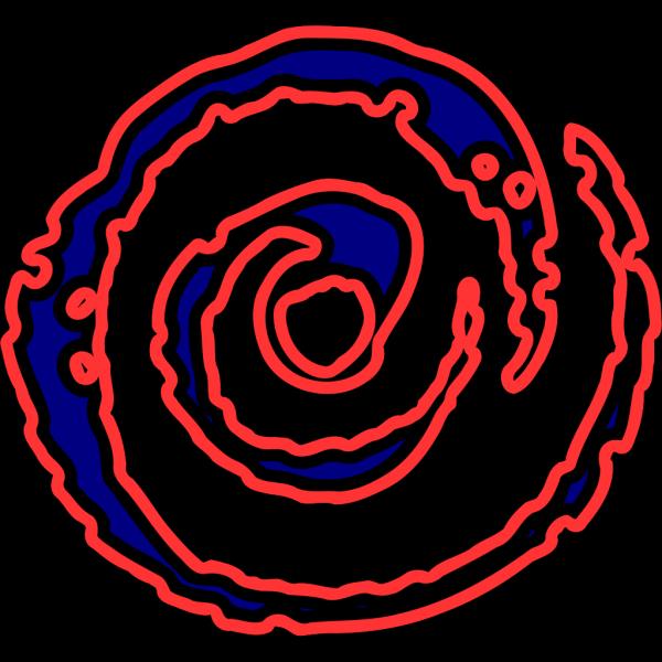 Spiral Fire PNG Clip art