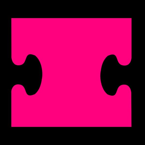 Puzzle Peice M PNG Clip art