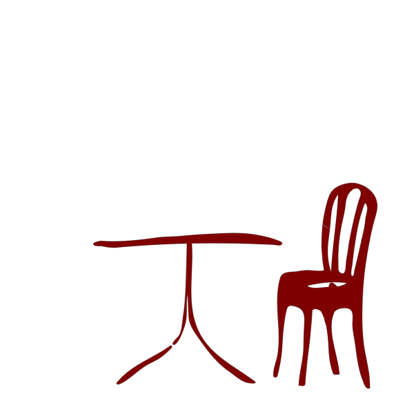 Table Chair PNG Clip art