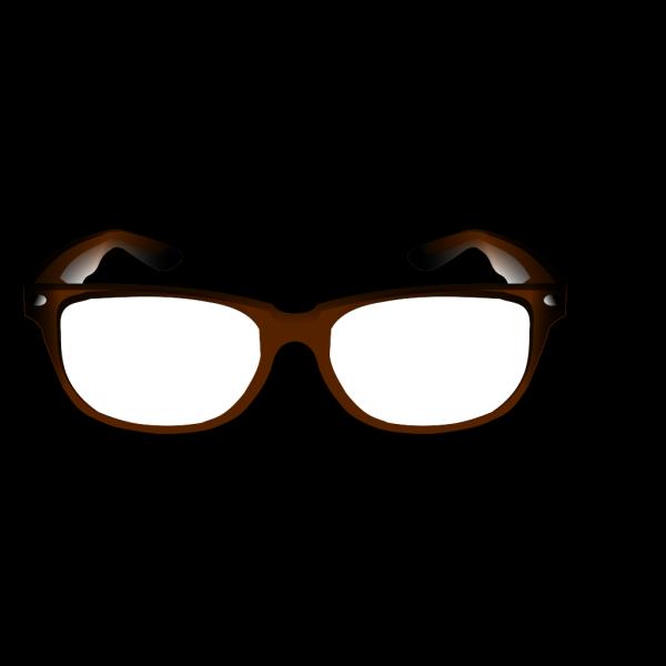 Brown Glasses PNG Clip art