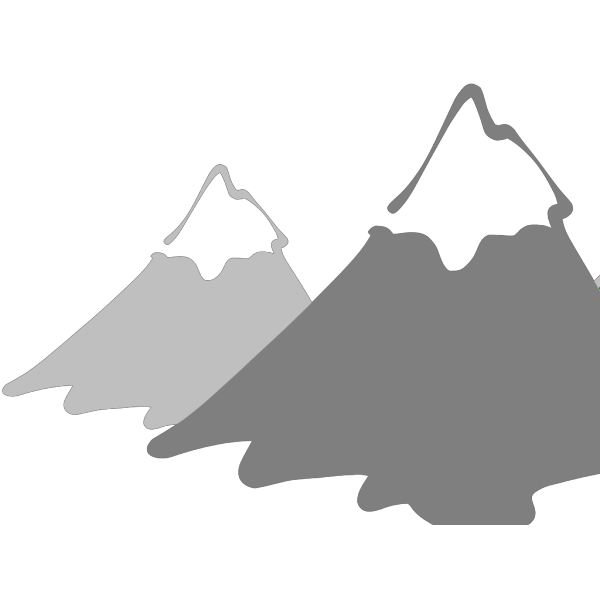 New High Def Mountain PNG Clip art