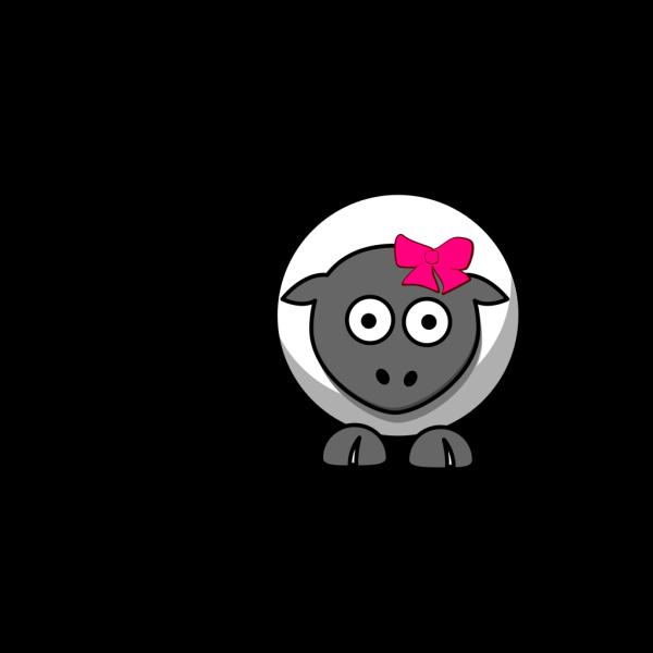 Sheep Cartoon PNG Clip art