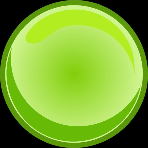 Green Button Blank PNG Clip art