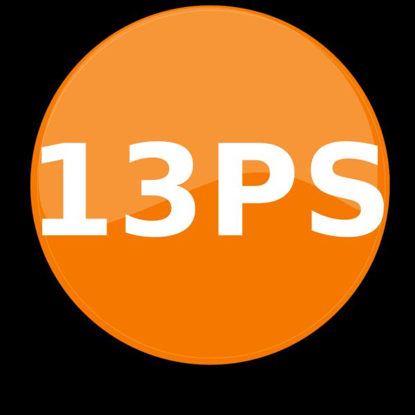 13ps PNG Clip art