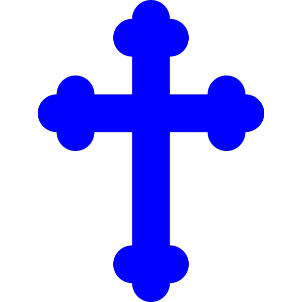 Blue Cross PNG icons
