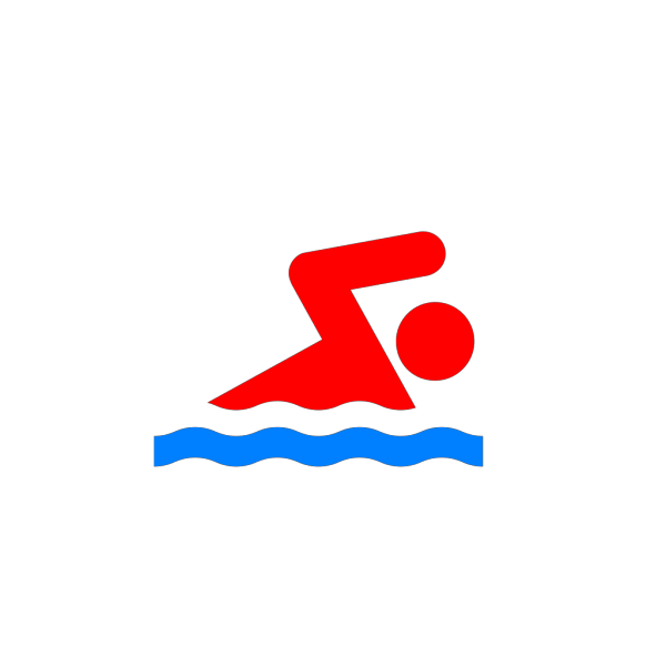Swimming Person Again PNG Clip art