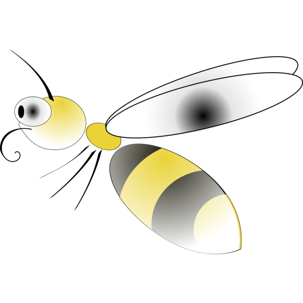 Cartoon Bee PNG Clip art