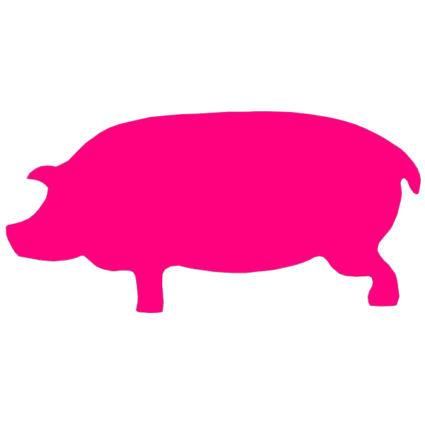 Pig Pink PNG icons