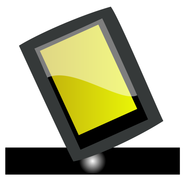 Black Pad PNG icon