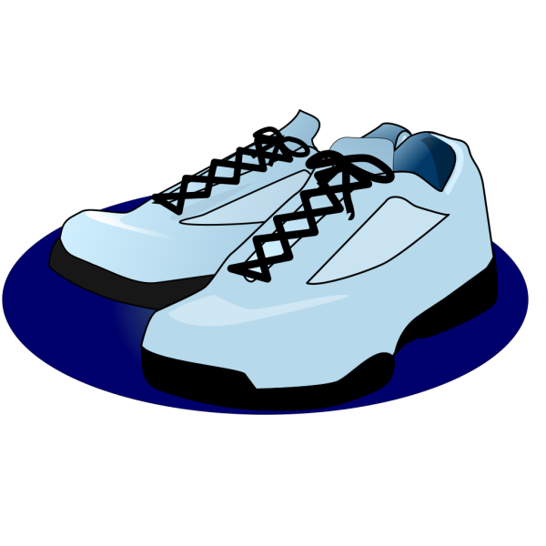 Black Tennis Shoes PNG images
