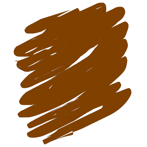 Brown Scribble PNG Clip art
