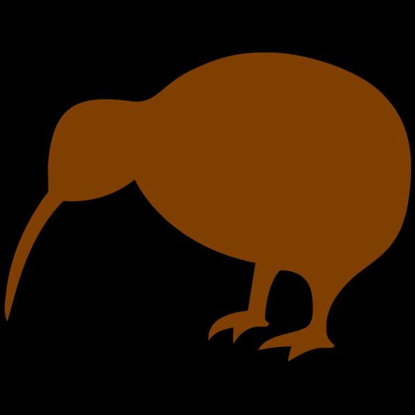 Brown Kiwi PNG Clip art