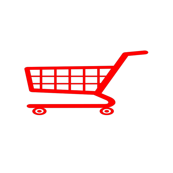 Pink Shopping Cart Icon PNG images