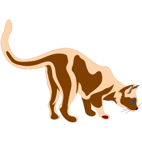 Sniffing Cat PNG Clip art