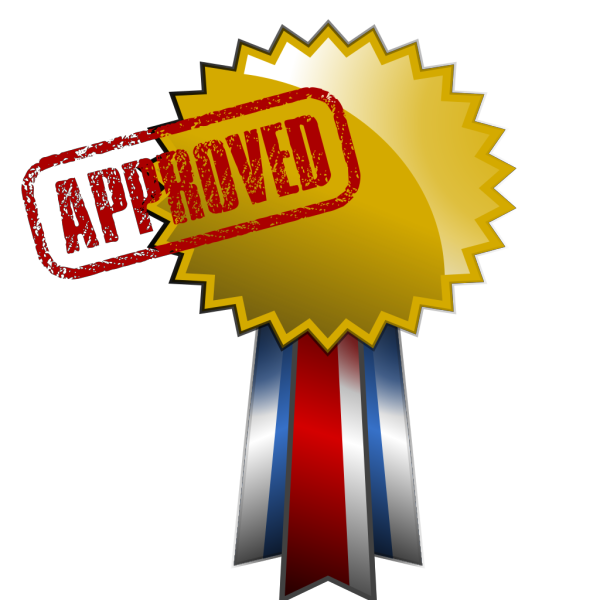 Approved Green Button PNG Clip art