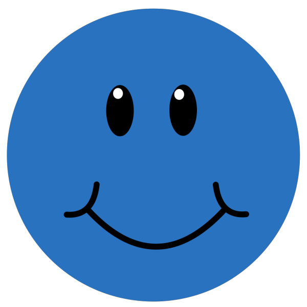 Blue Smile PNG icons