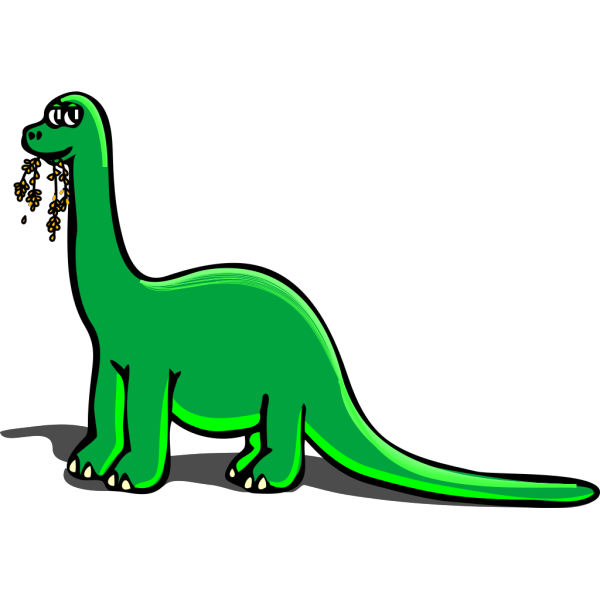 Eating Cartoon Dinosaur PNG Clip art