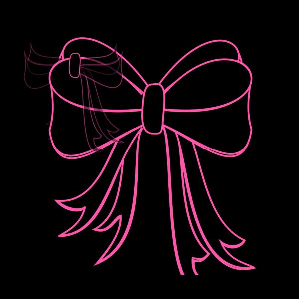 Black Bow Ribbon PNG Clip art