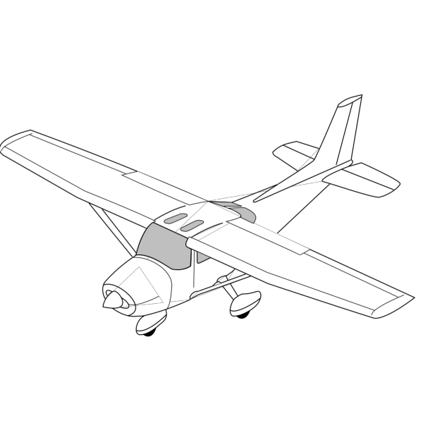 Plane White Body PNG images
