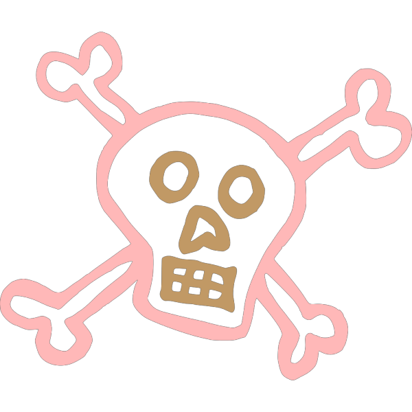Pirate Skull And Crossbones PNG Clip art