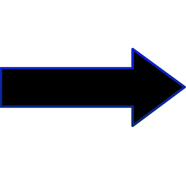 Arrows black PNG Clip art