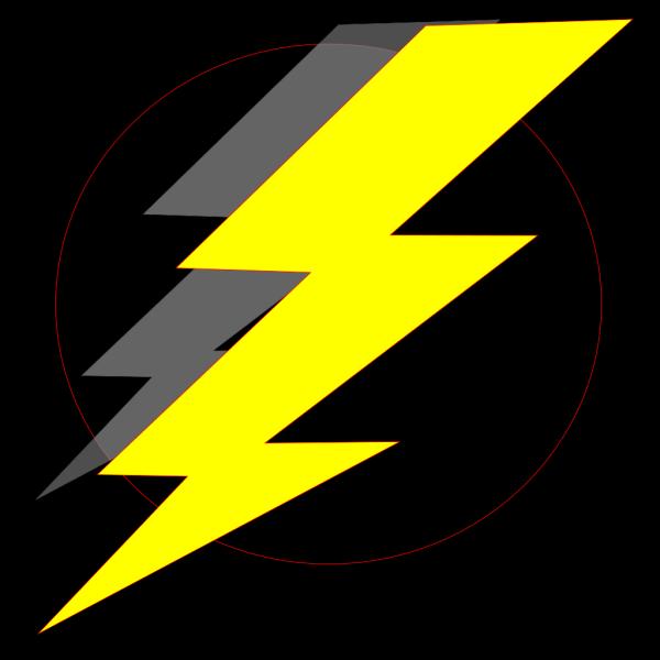Storm Black Yellow PNG Clip art
