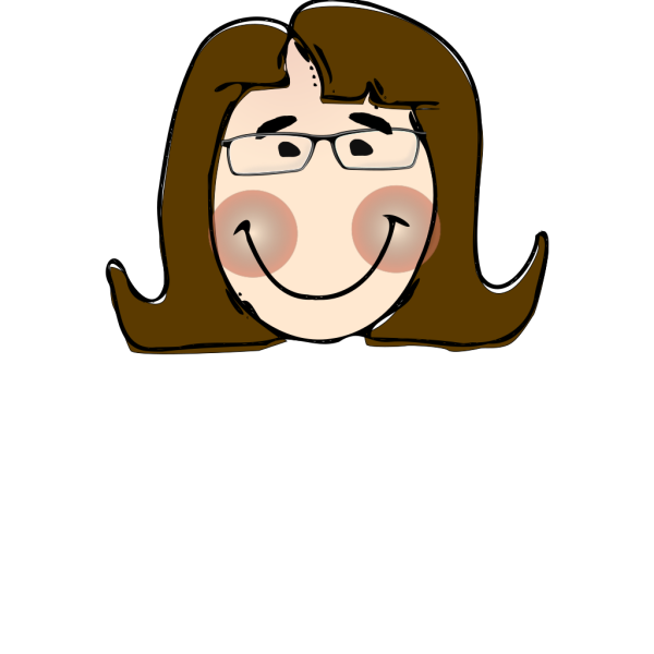 Woman With Glasses PNG Clip art