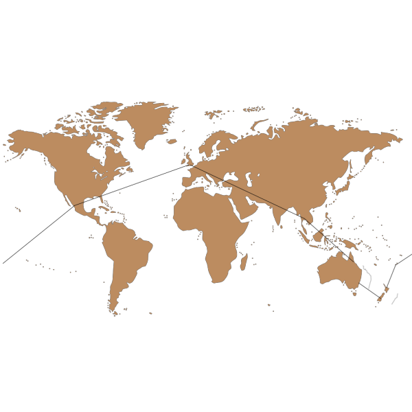 Globe Brown With Route PNG images