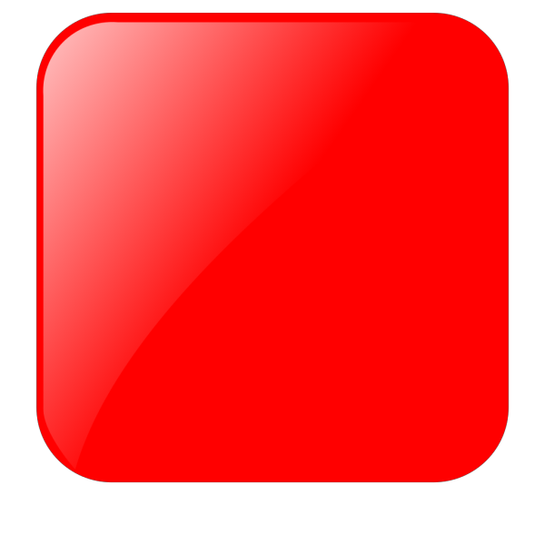 Blank Red Button PNG Clip art