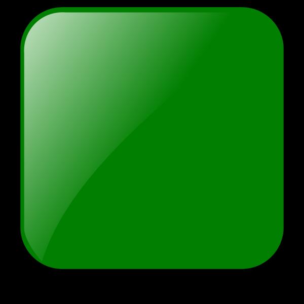 Blank Green Button PNG Clip art