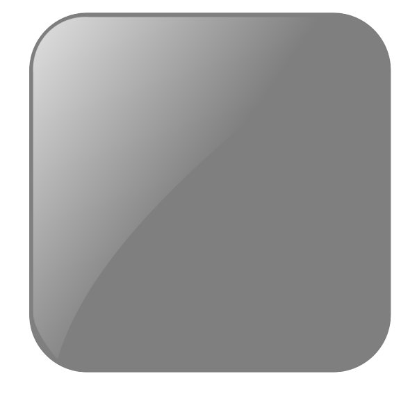 Blank Gray Button PNG Clip art
