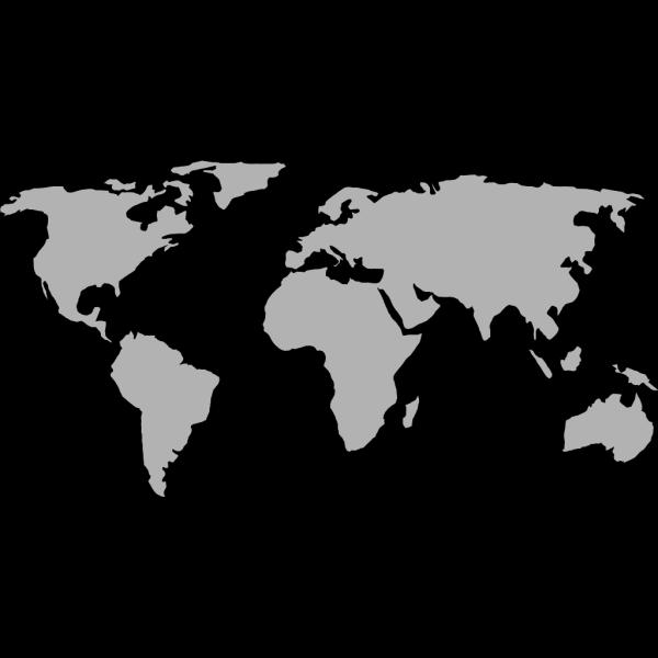 Australian Black Maps PNG images