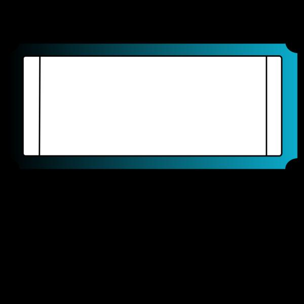 Blueticket PNG Clip art