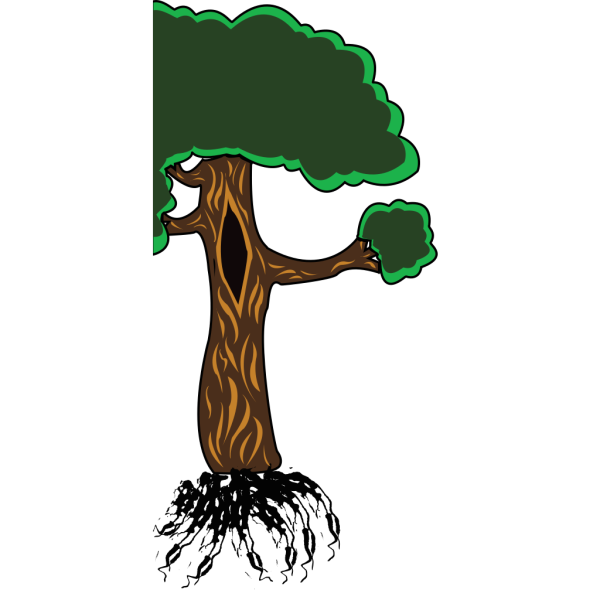 Bear Up A Tree PNG Clip art
