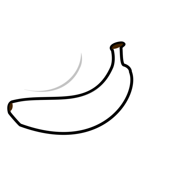 Banana Outline PNG images
