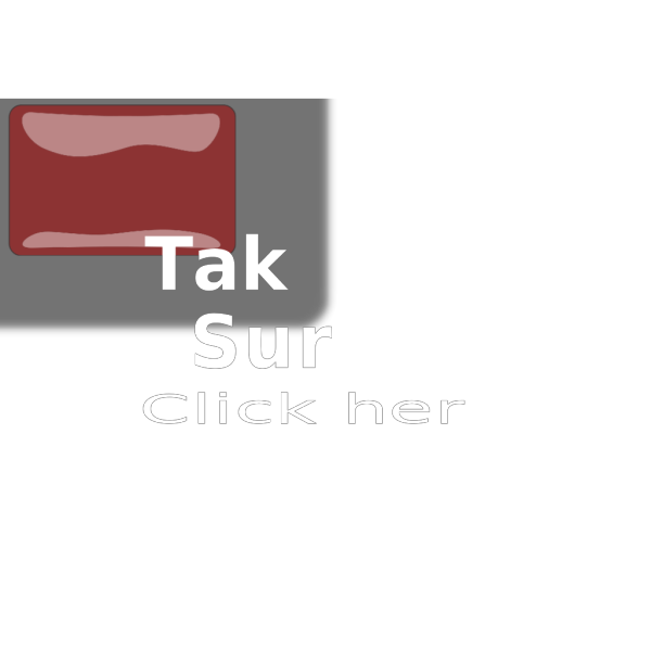 Red Glossy Survey Button PNG Clip art